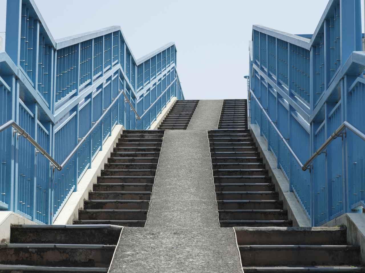 画像: 階段の上り下りを取り入れる