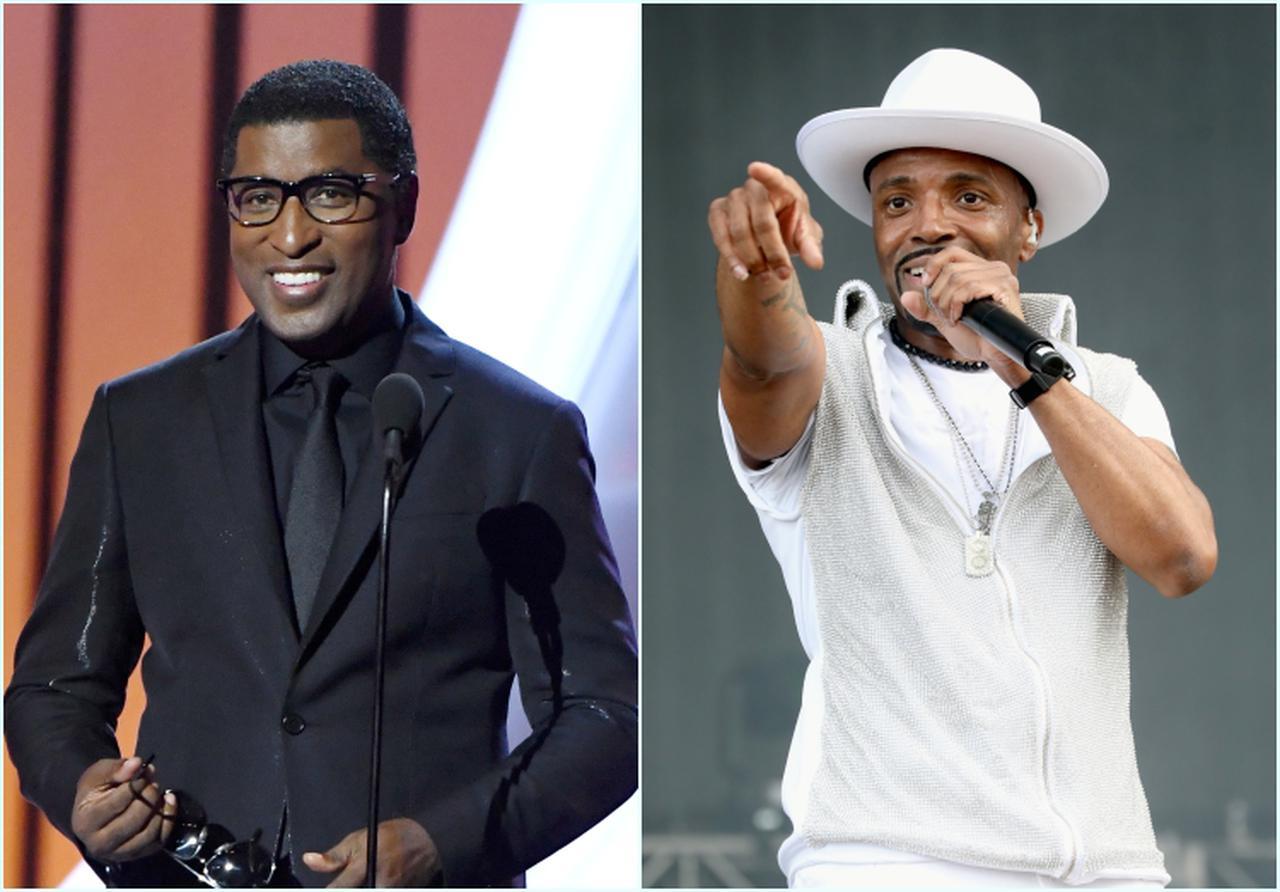 画像: 左:ベイビーフェイス、右:テディ―・ライリー