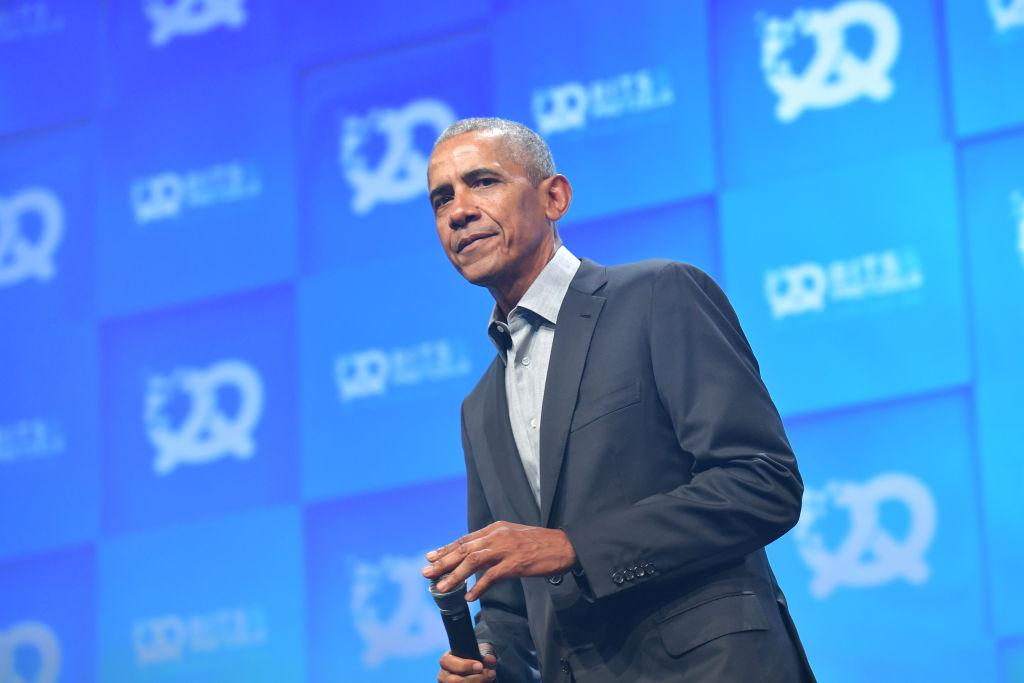画像: 当時を知る1人として出演したオバマ元大統領