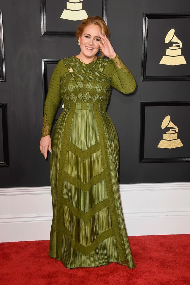 画像: アデルが最後にレッドカーペットに姿を現したのは2017年2月の第59回グラミー賞だった。