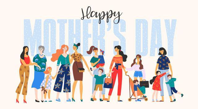 画像: 2020年は5月10日が「母の日」