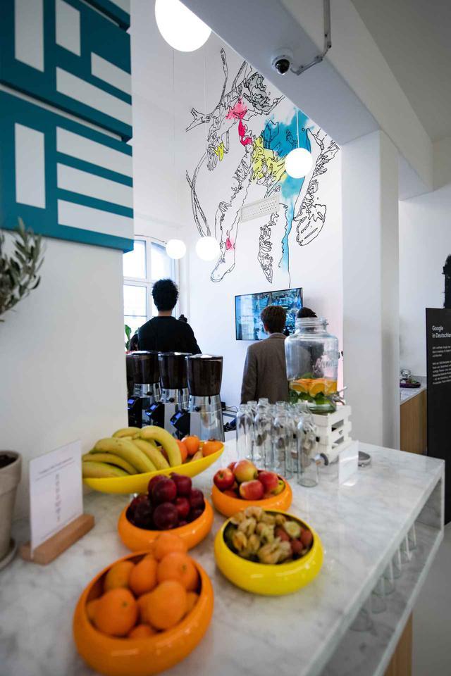 画像: ドイツのベルリンにあるグーグルのオフィス。