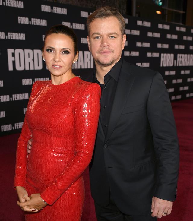 画像: マットと妻のルシアナ。