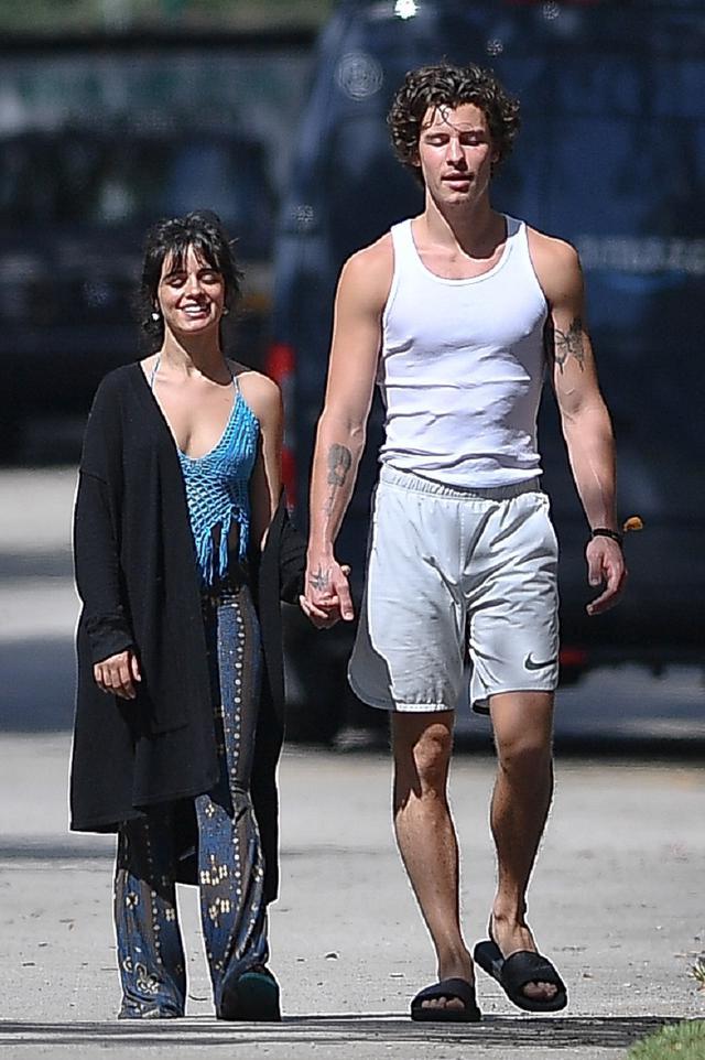 画像: ショーンとカミラが近所に散歩に出かける様子がフロリダ州マイアミにあるカミラの自宅周辺で頻繁に目撃されている。