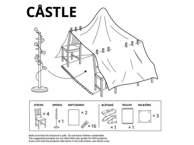 画像3: テント、砦、洞窟…、テーマに沿ったアイディア集