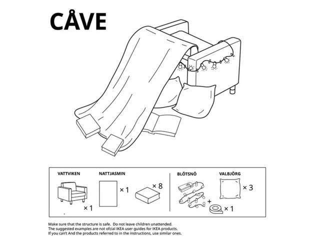 画像6: テント、砦、洞窟…、テーマに沿ったアイディア集