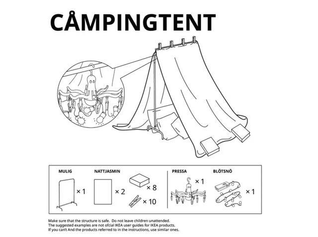 画像4: テント、砦、洞窟…、テーマに沿ったアイディア集