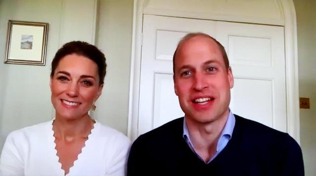 画像: イギリス王室のキャサリン妃(左)とウィリアム王子(右)。