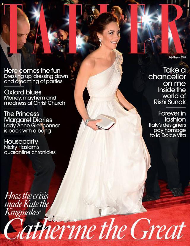 画像: Tatler 2020年8月号の表紙。