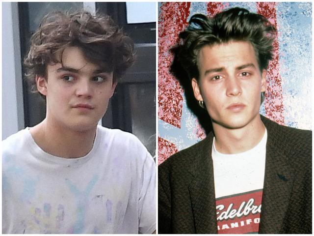画像: ジャック(左)と若かりし頃のジョニー(右)。ジャックの目力の強さは父親譲り?