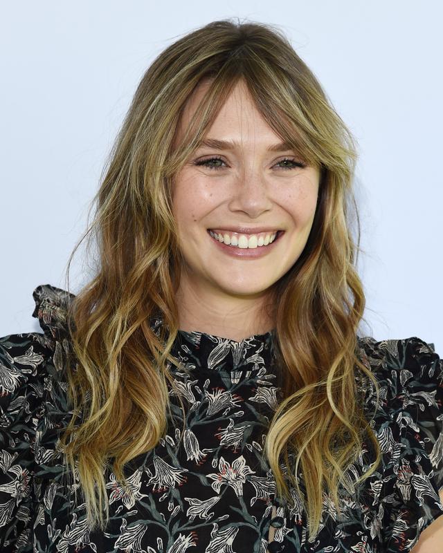画像: 女優のエリザベス・オルセン