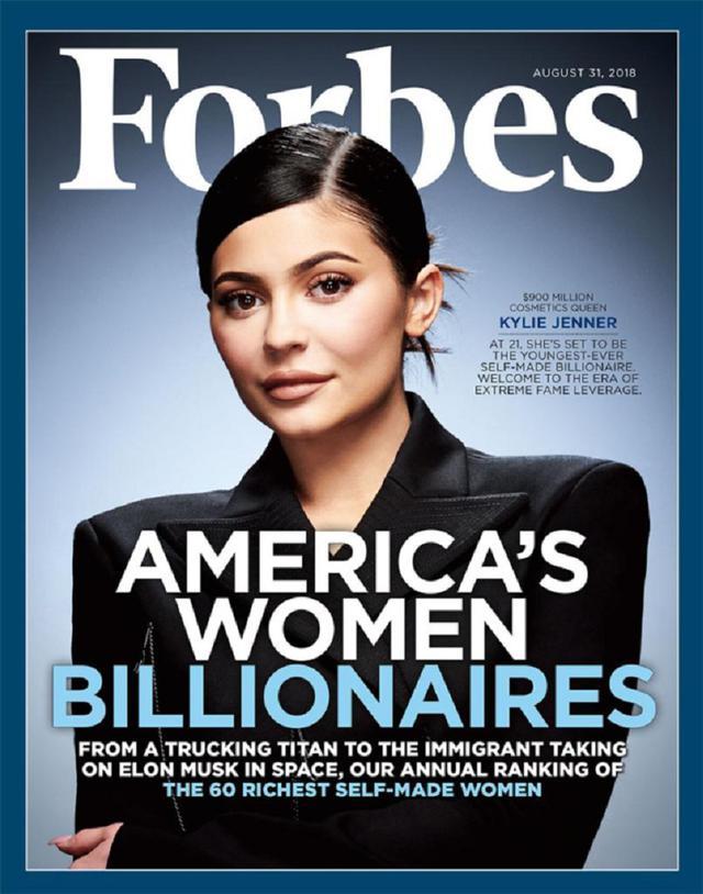 画像: カイリー・ジェンナーは「史上最年少億万長者」ではない?