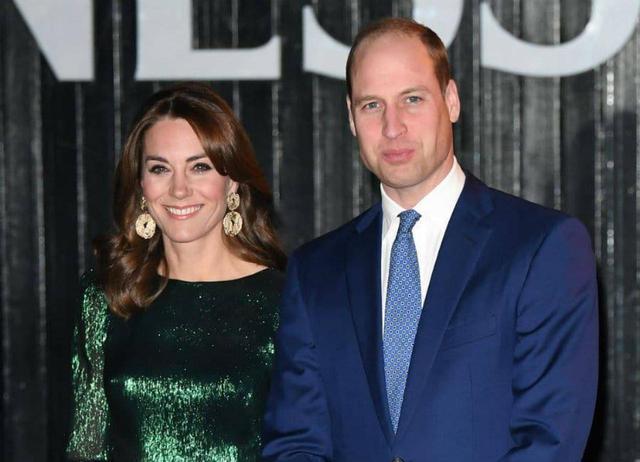 画像: ウィリアム王子と妻のキャサリン妃。