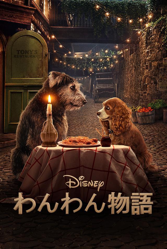 画像: 『わんわん物語』(実写版)© 2020 Disney 6月11日(木)よりディズニープラスで配信予定