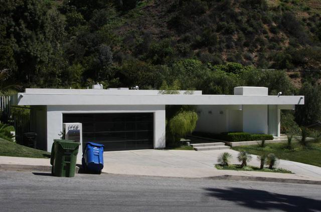画像: カリフォルニアにあるキアヌの自宅。
