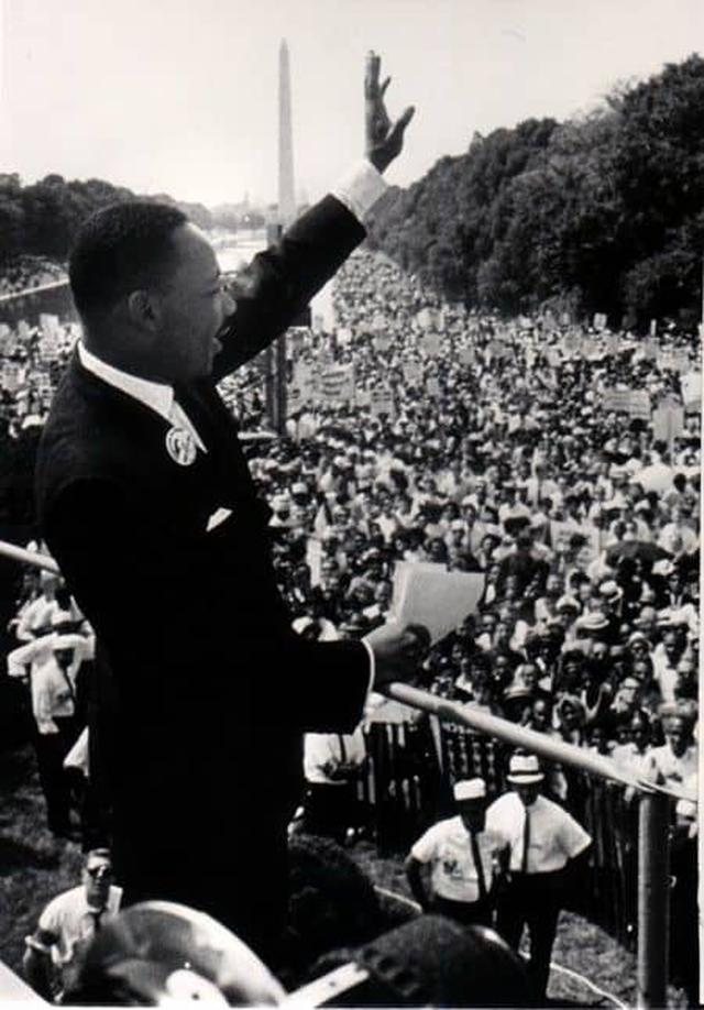 画像: 「私には夢がある」の演説をしたマーティン・ルーサー・キングJr.