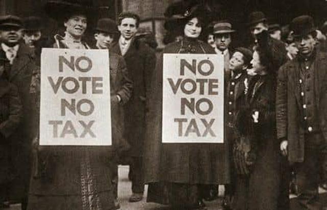画像: 基本的な権利を求めて―「女性の投票権」