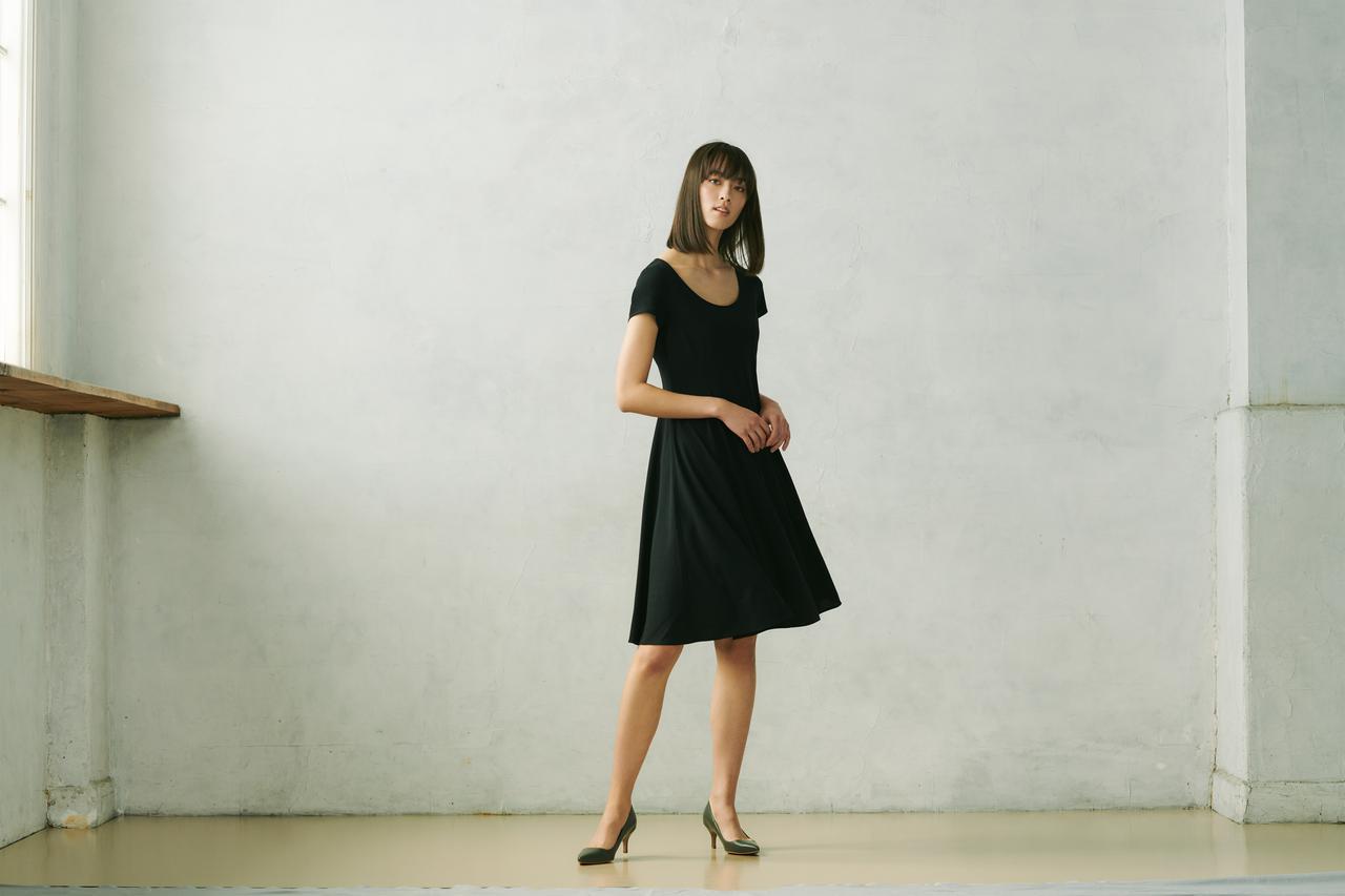 画像3: デコルテから足元まで、女性を美しく魅せるワンピース