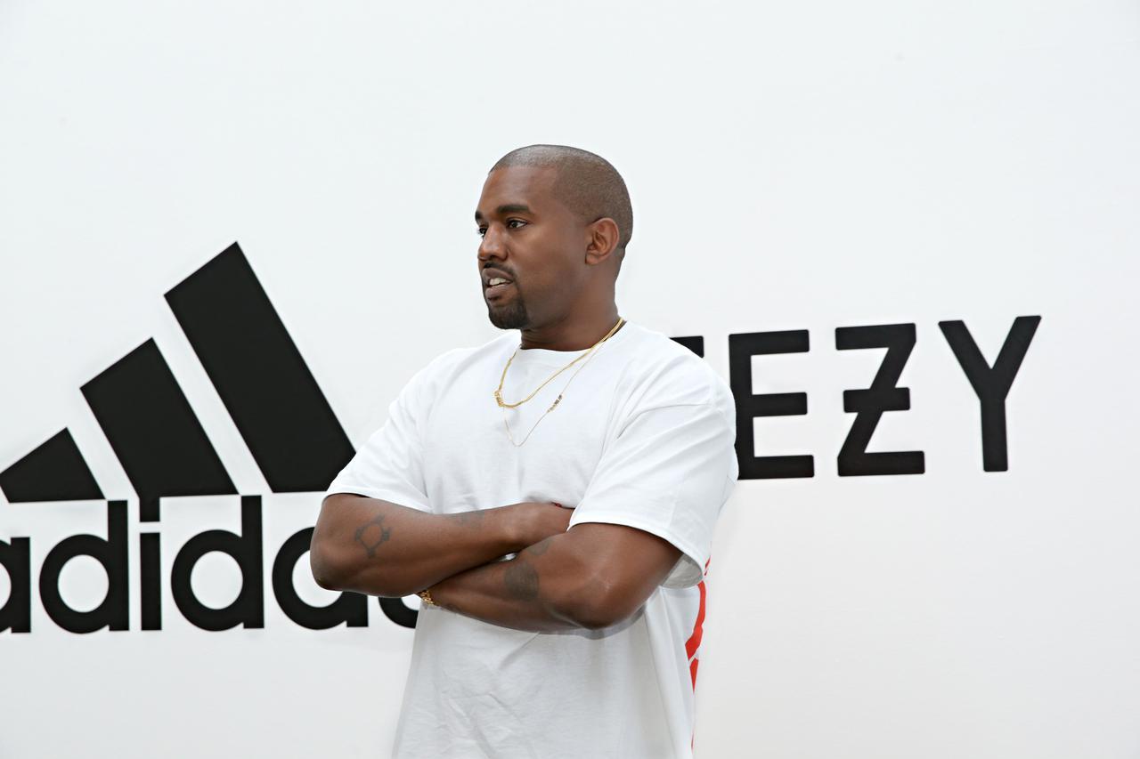 画像: Yeezyが成功を収めているカニエ