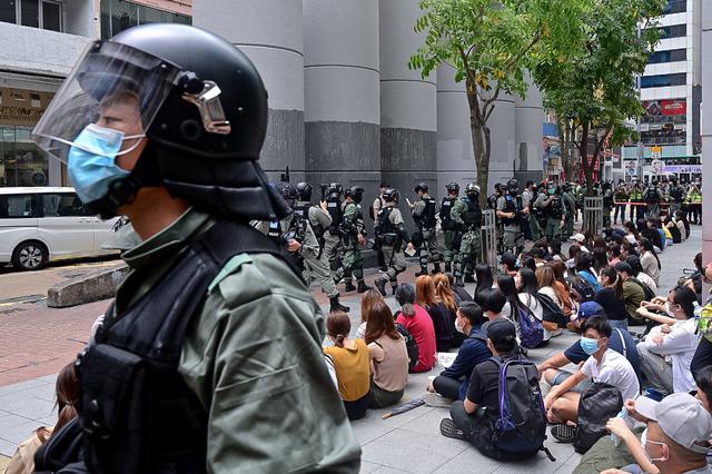 画像: 現地時間5月27日に香港で撮影。