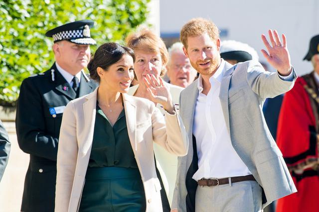 画像: ヘンリー王子&メーガン妃からの手紙