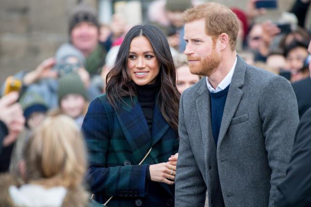 画像: ヘンリー王子とメーガン妃、エージェントと契約