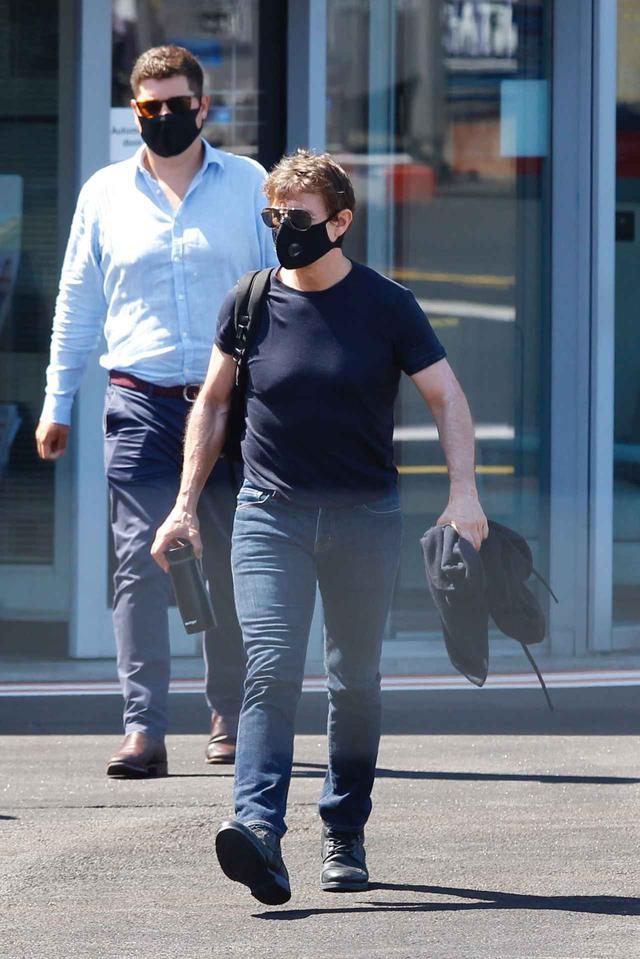 画像3: トム・クルーズがロンドンに到着