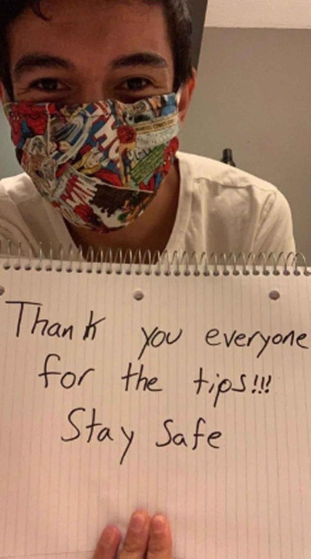 画像: クラウドファンディング上にお礼の言葉を載せたレーニン。彼は、併せて感謝を伝える動画も公開している。 Ⓒgofundme.com