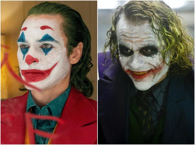 画像: 映画『ジョーカー』より(左)、映画『ダークナイト』より(右)