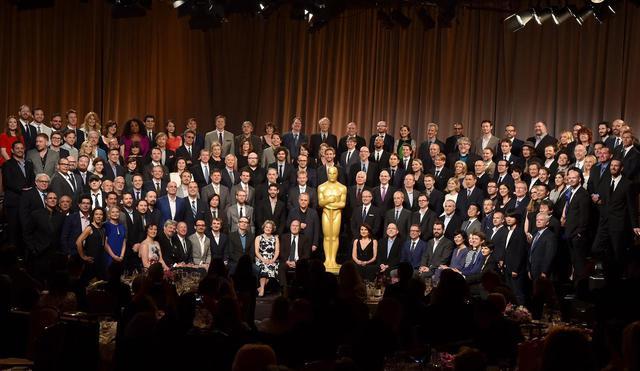 画像: 2015年アカデミー賞の受賞候補者たち。