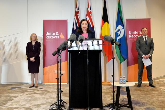 画像: クイーンズランド州のアナスタシア・パラシェ首相