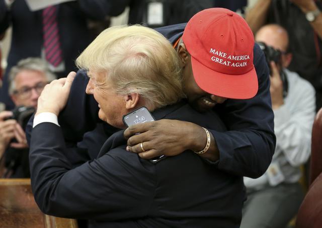画像2: トランプ大統領とは別の道を進むとカニエ・ウェスト