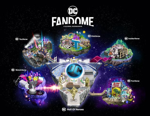 画像: DCファンドームのマップ紹介