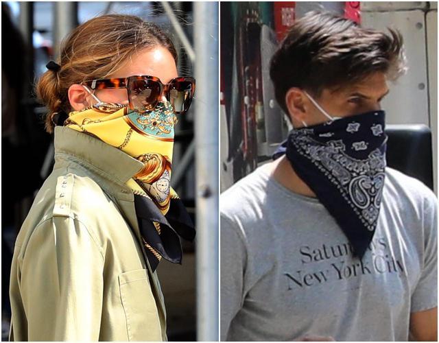 画像: 気づいた?スカーフ・マスクのトリック