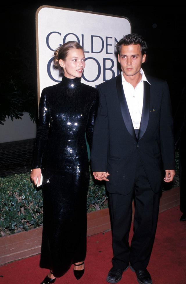 画像: ジョニーが1994年から1998年に交際していたモデルのケイト・モス。アンバーが語ったジョニーがケイトを階段から落としたというエピソードの信憑性は定かではなく、ケイトに証人として出廷して欲しいとの世間の声もある。
