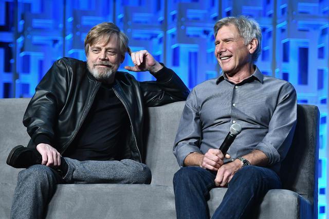 画像: マーク・ハミル(左)とハリソン・フォード(右)