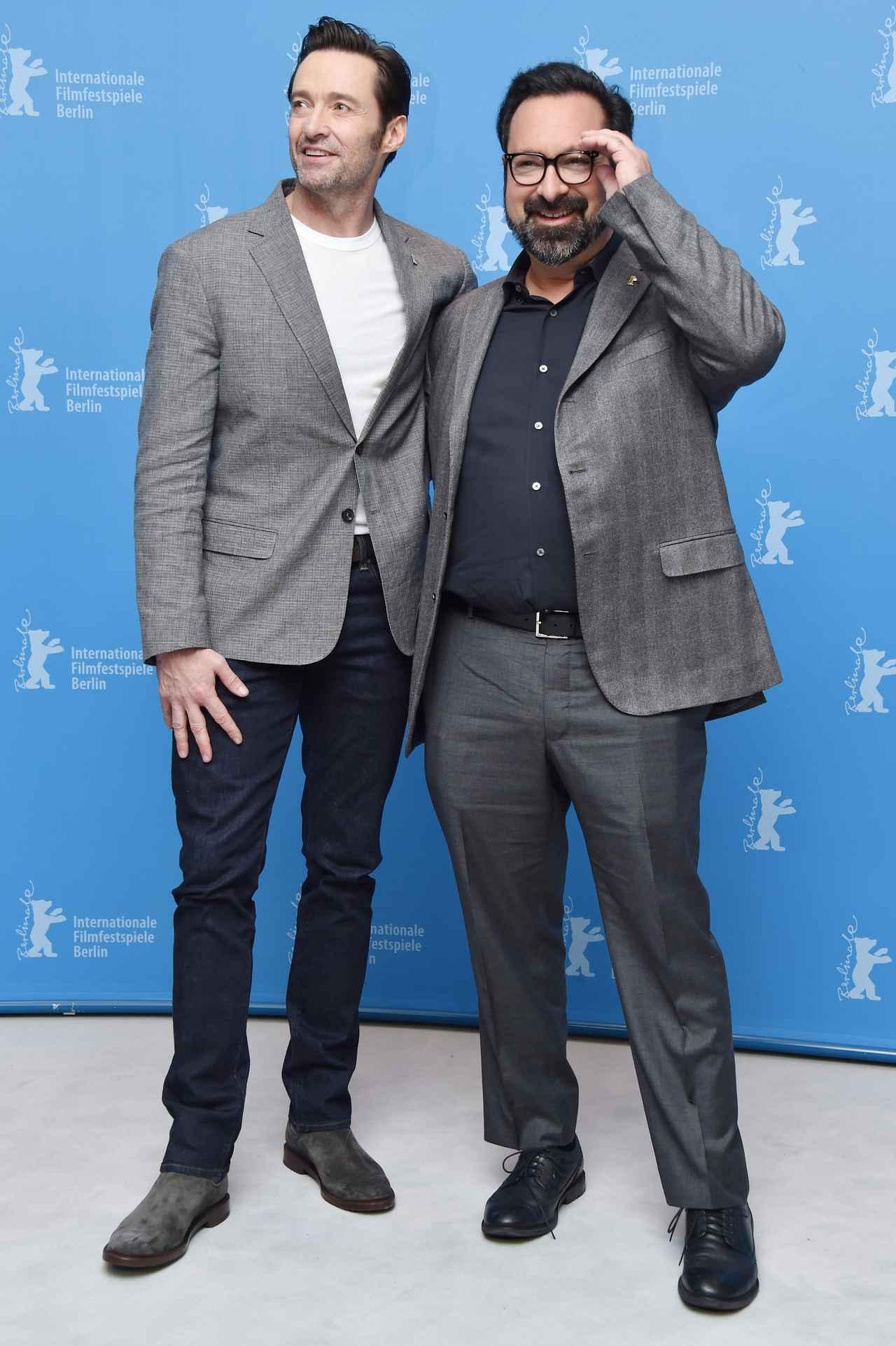画像: ヒューと、監督のジェームズ・マンゴールド。
