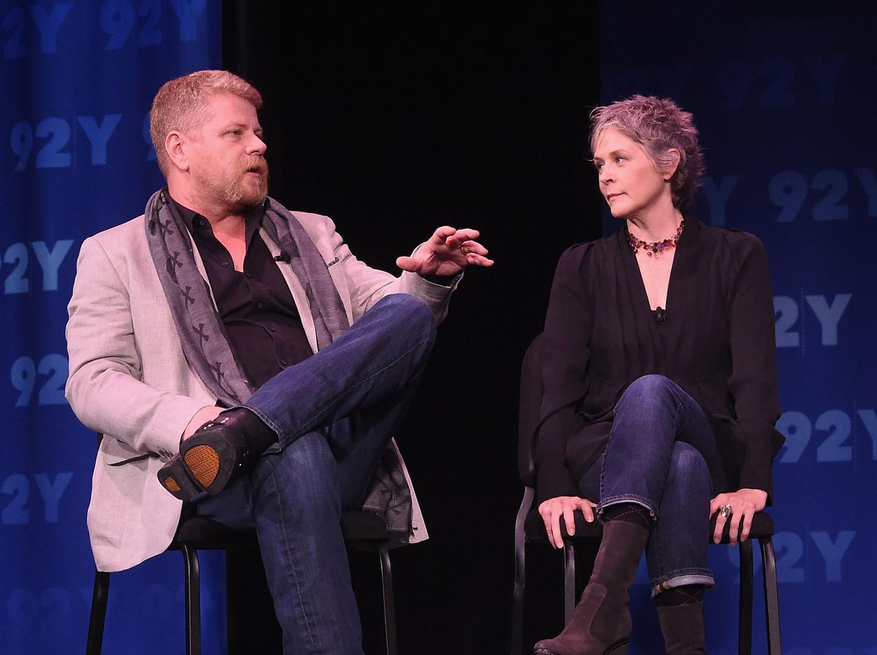 画像: マイケル・カドリッツとメリッサ・マクブライド。