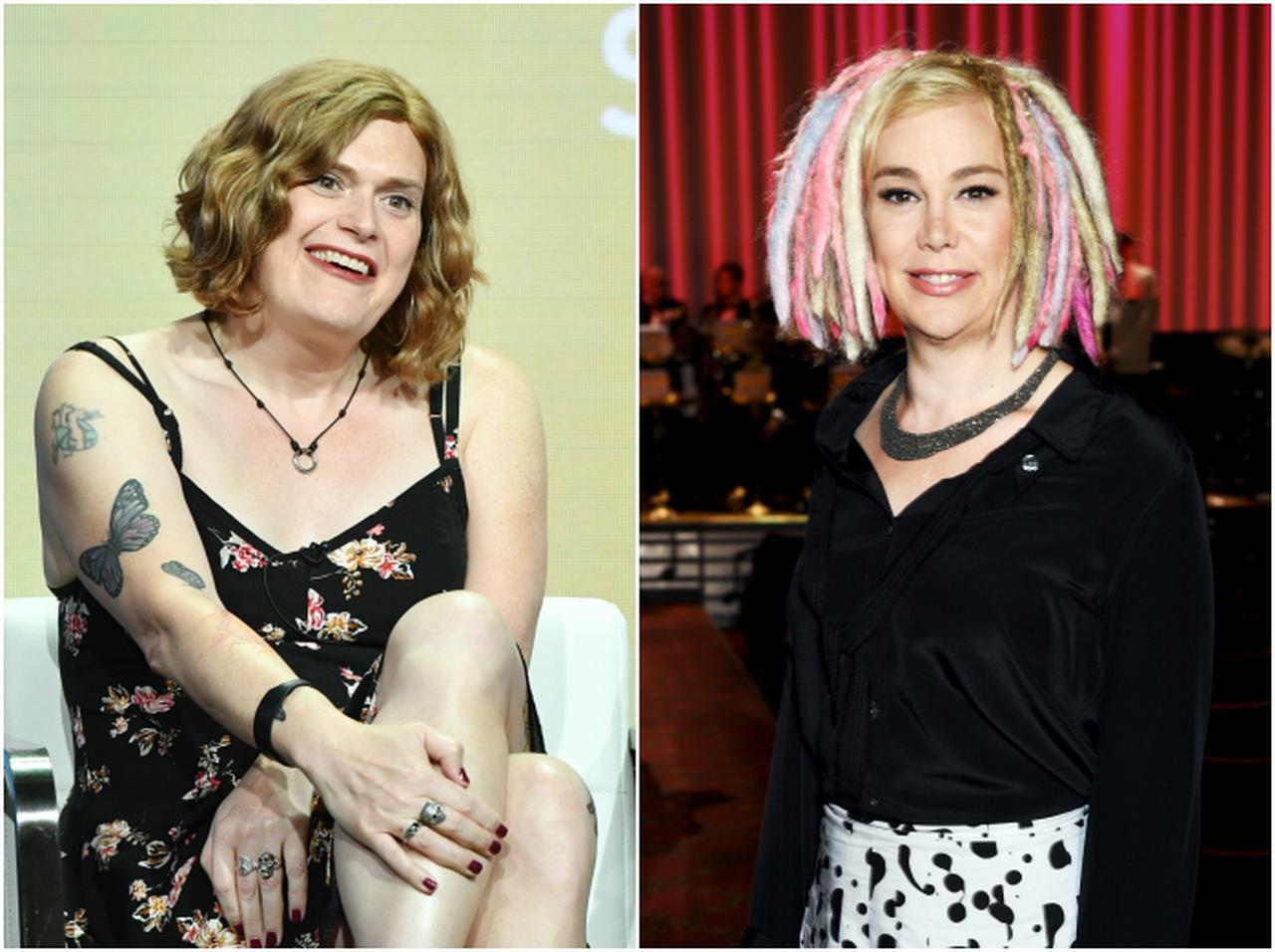 画像: リリー・ウォシャウスキー(左)、ラナ・ウォシャウスキー(右)