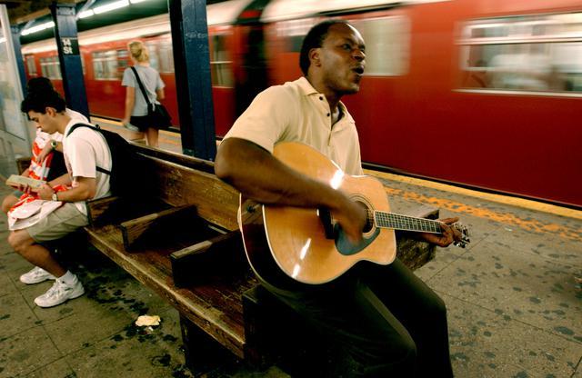 画像2: ニューヨークの地下鉄