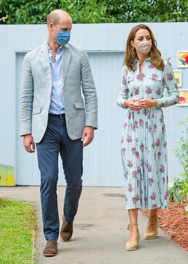 画像1: ウィリアム王子も同ブランドのマスクを愛用