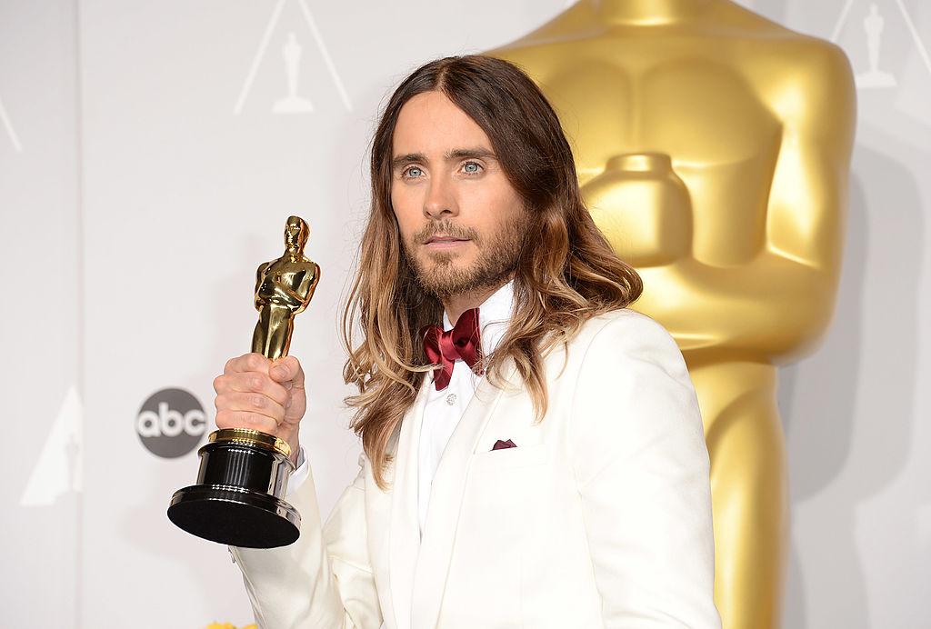 画像: ジャレッド・レト。2013年に公開された映画『ダラス・バイヤーズクラブ』でアカデミー賞など主要な映画賞で助演男優賞を獲得した。