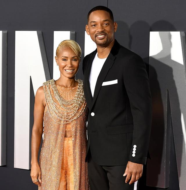 画像: ウィルと妻のジェイダ。