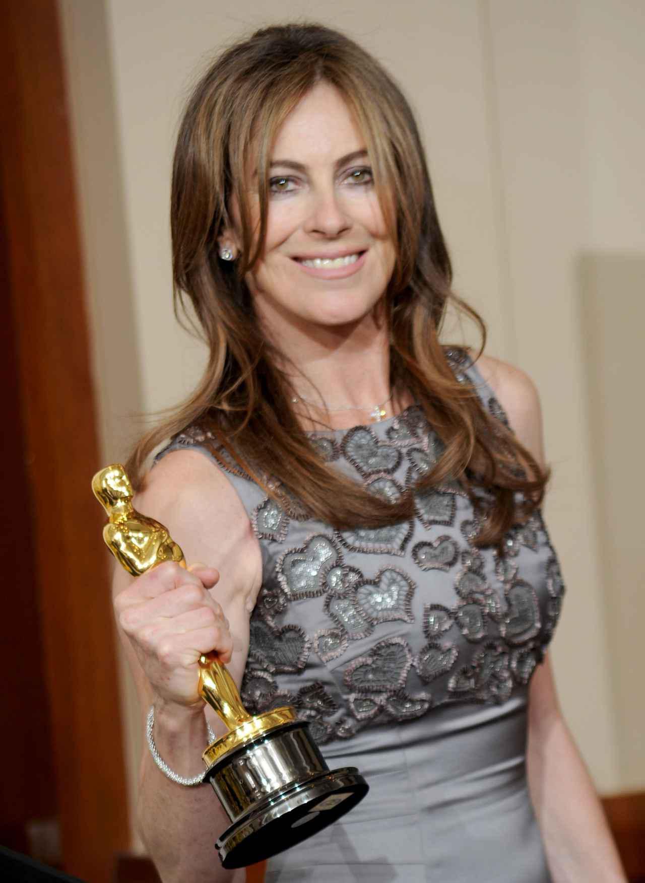 画像: 女性監督で唯一アカデミー賞の監督賞を受賞した映画『ハート・ロッカー』のキャスリン・ビグロー。