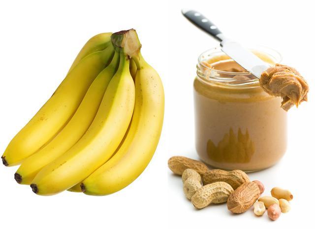 画像: バナナとピーナッツバター