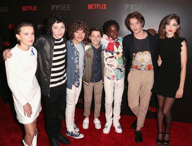 画像1: 多くの若手注目俳優が出演する『ストレンジャー・シングス』