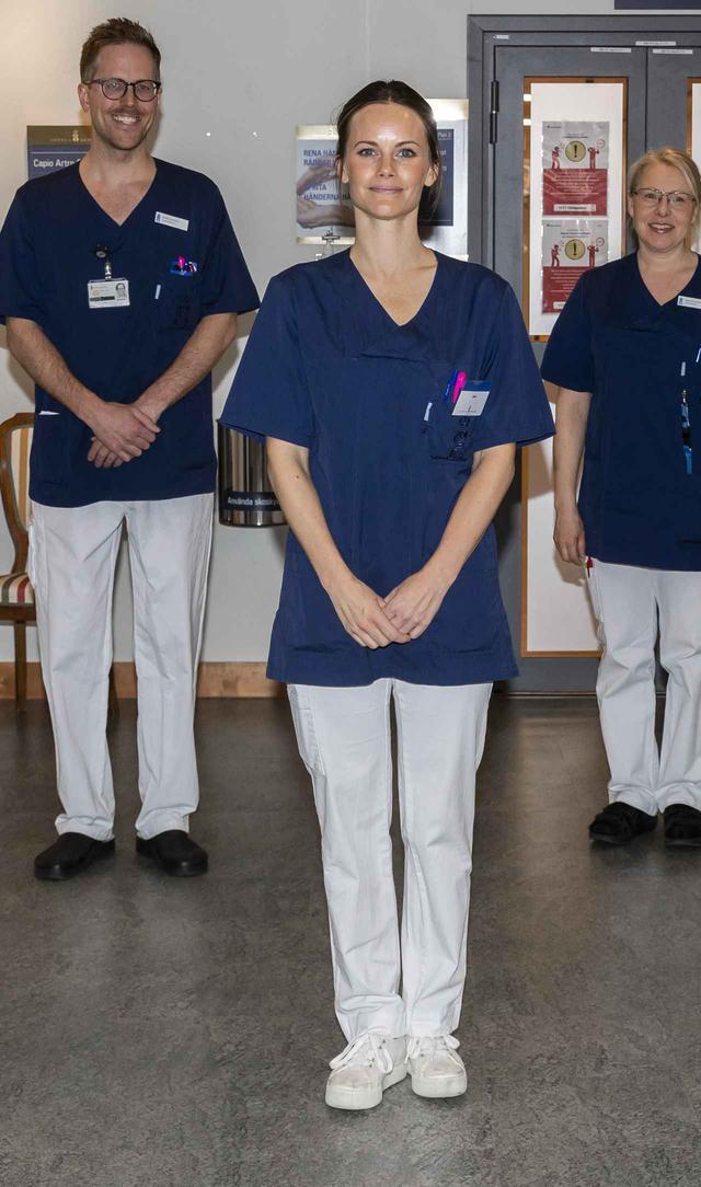 画像: ソフィア妃が継続して医療従事者をサポート