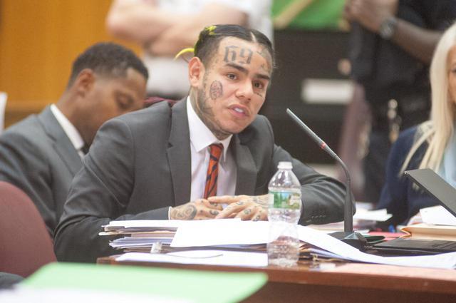 画像: 今月刑期を満了したばかりのテカシ・シックスナイン