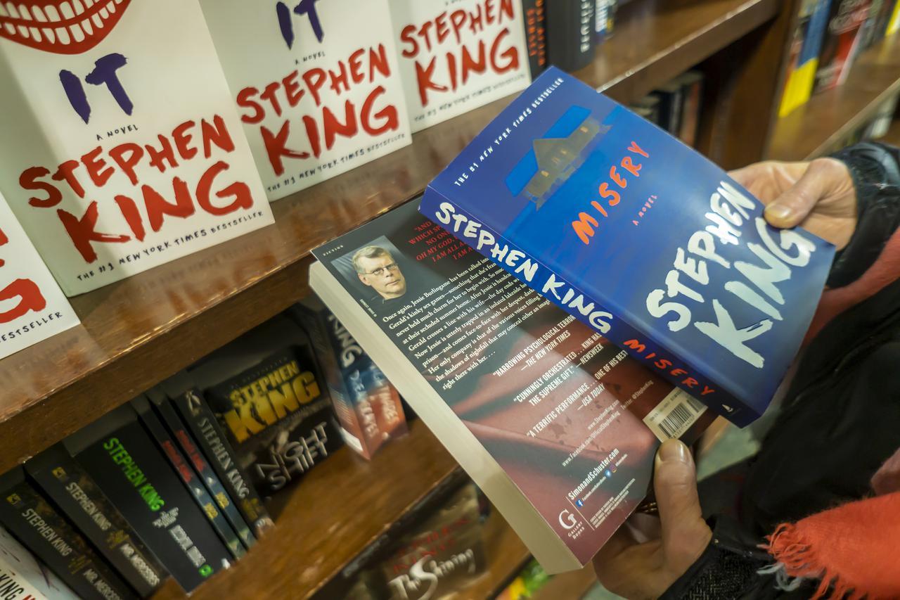 画像: ホラーの帝王スティーヴン・キング