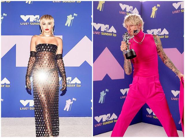 画像: MTV VMA2020、レッドカーペットはバーチャルで!ガガ、マイリーらがド派手 - フロントロウ -海外セレブ情報を発信